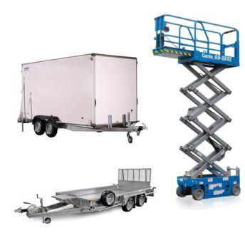 Lift og trailer